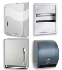 Paper towel dispenser types